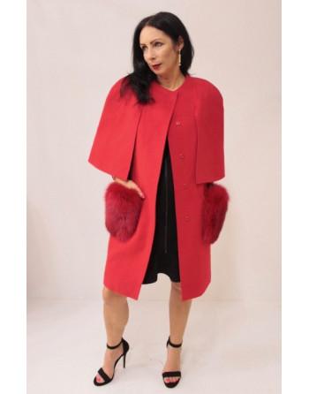 MELISSA - wełniany płaszcz