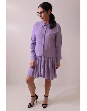 SOCIETA - lawendowa sukienka