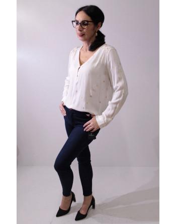 ARTLOVE - biała koszula w...