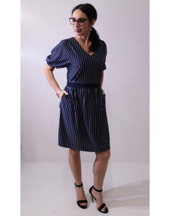 YUKA - sukienka w paski
